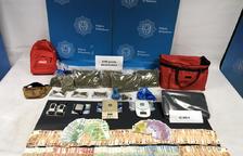 La droga comissada en l'última operació de la policia.