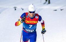 Irineu Esteve acaba quinzè als 15 km d'Oberstdorf
