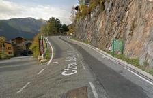 Tram de la carretera que arranjarà el Govern.
