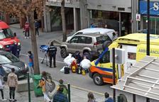 Traslladat a Barcelona el nen atropellat ahir a Prat de la Creu