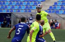 Un FC Andorra gris i sense punta cau per la mínima a Badalona (1-0)