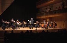 Record a les víctimes de la Covid en el concert de la Constitució