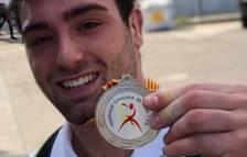 Plata per a Joel Rossell al Campionat de Catalunya