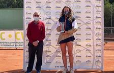 Vicky Jiménez cau a la final del torneig de Villena