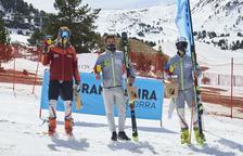 Àxel Esteve iÍria Medina s'imposen al gegant dels Campionats d'Andorra