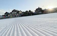 Els camps de neu tanquen una temporada d'hivern negre