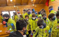 Verdú anima als més petits a dedicar-se a l'esquí