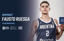 El MoraBanc es reforça amb la promesa argentina Fausto Ruesga