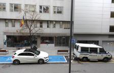 La seu de la Caixa Andorrana de la Seguretat Social.