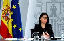 La ministra de Sanitat espanyola, Carolina Darias.