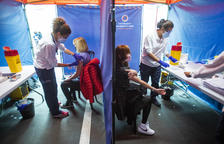 Salut ha administrat 20.300 dosis de vaccins