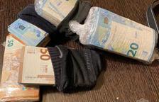 Un milió d'euros en contraban de tabac