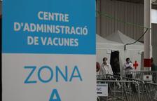 El centre de vacunació de la plaça de braus avui divendres