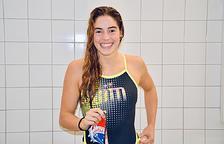 La membre de la Federació andorrana de natació i representant al Campionat Europeu de Budapest, Nàdia Tudó