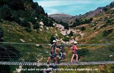 'Frame' del nou espot publicitari d'Andorra Turisme.