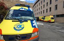 Tres vehicles es veuen implicats en un accident a la Massana