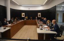 Un instant de la sessió del consell de comú d'aquesta tarda