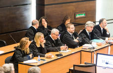Advocats defensors en una de les vistes en què es van tractar les qüestions prèvies.