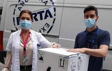 Arriben 5.850 dosis de Pfizer d'Espanya