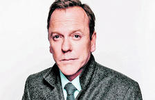 L'actor Kiefer Sutherland.