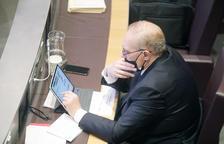 Josep Pintat al Consell General.
