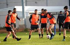 L'equip entrena a Extremadura.