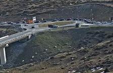 Retencions de més de 2 quilòmetres a la frontera del Pas de la Casa
