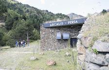 L'altra minicentral que gestiona Persa, la d'Arcalís.