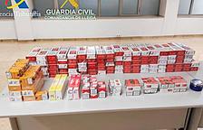 La guàrdia civil comissa a la Farga de Moles 1.125 paquets de tabac a un jove francès
