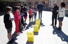 Encamp distribueix 350 porta entrepans a escolars per reduir plàstics d'un sol ús