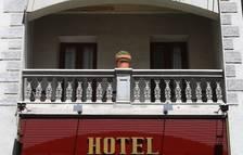Ocupació del 55% a 33 hotels oberts durant el cap de setmana