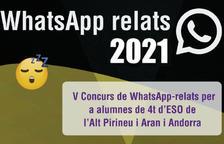 Finalista andorrana al concurs de WhatsApp