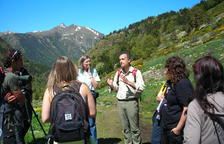 Exposició itinerant al festival de la Flora del Pirineu