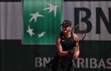 Vicky Jiménez cau a quarts de final de Roland Garros júnior