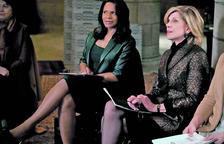 Audra McDonald i Christine Baranski, protagonistes de la sèrie.