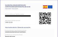 El reglament del certificat Covid de la UE recull que Andorra hi ha de poder accedir