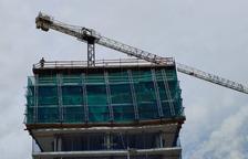 Canvi de les proteccions a la torre d'Escaldes