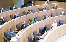 El ple del Consell General.