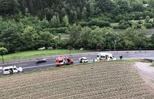 Accident mortal a Ordino
