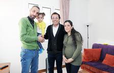 Els refugiats que van arribar el 2018 ja tenen la residència