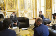 Espot i Suñé agraeixen a Macron el suport de França
