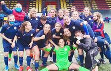 L'Enfaf femení supera el Verdú i lliga una treballada permanència (2-0)