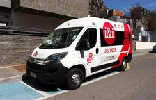 Nova furgoneta per a serveis d'inclusió sociolaboral