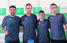 L'equip andorrà ahir a Macedònia en el sorteig.