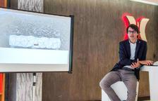 Alonso durant la presentació del projecte Epizen.