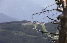 La zona de la Caubella afectada.