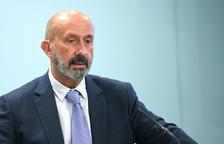 El ministre Joan Martínez Benazet va presentar l'app en roda de premsa.