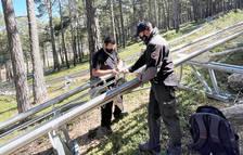 Els tècnics repassen les infraestructures del parc.