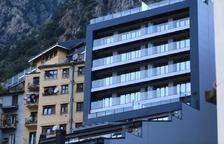 Edifici de nova construcció a la parròquia d'Andorra la Vella.