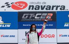 Amàlia Vinyes, al Campionat d'Espanya de Navarra.